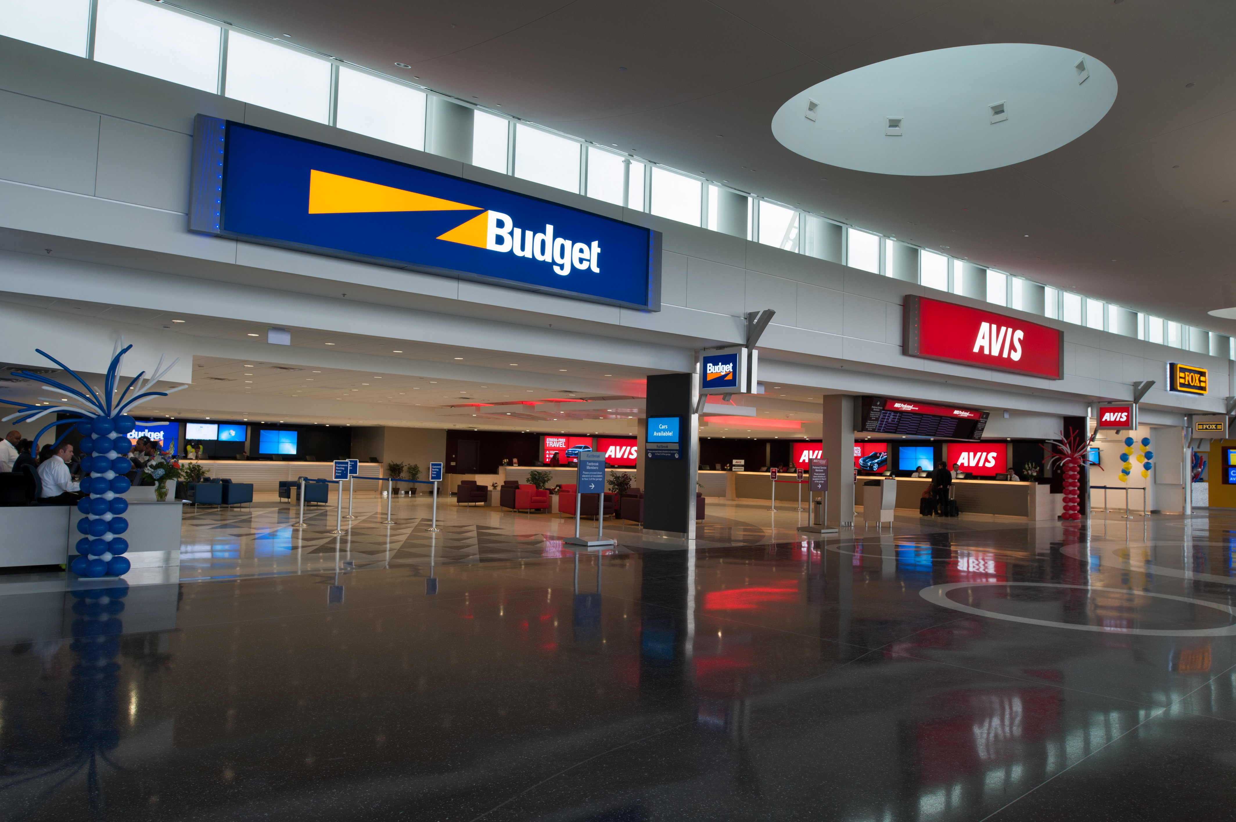 budget car rental seatac	  SeaTac Rental Car Facility | Seattle Architectural Photographer